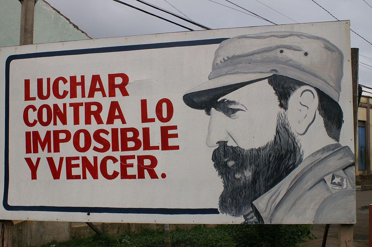 Кастро плакат