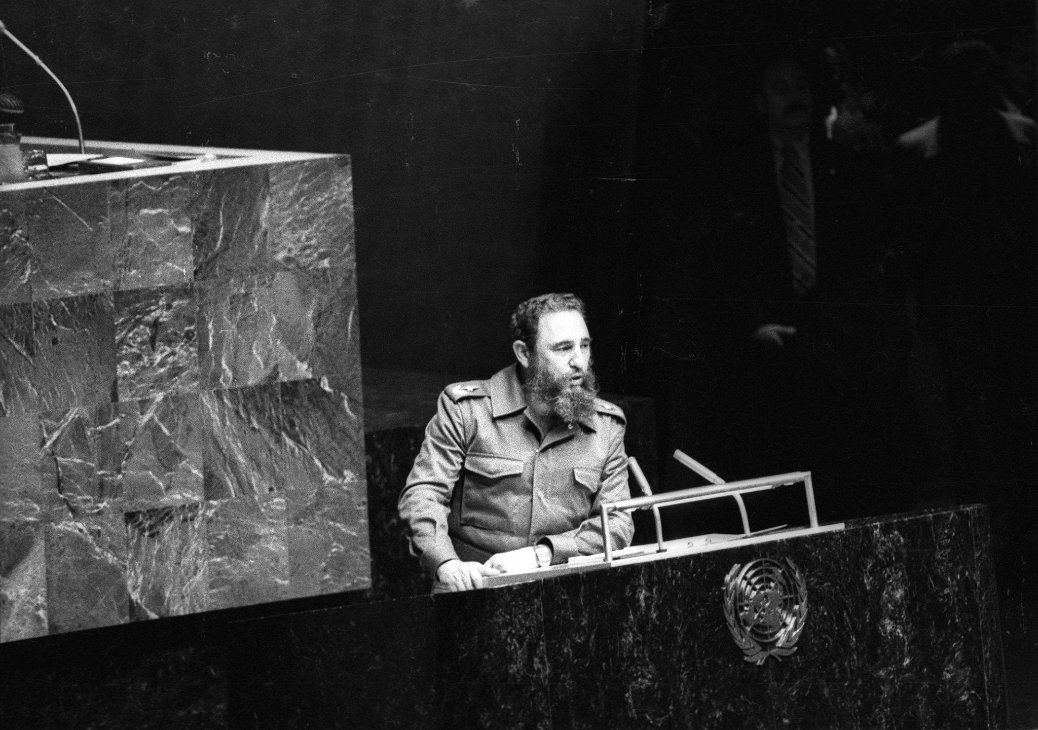 Кастро пред ООН