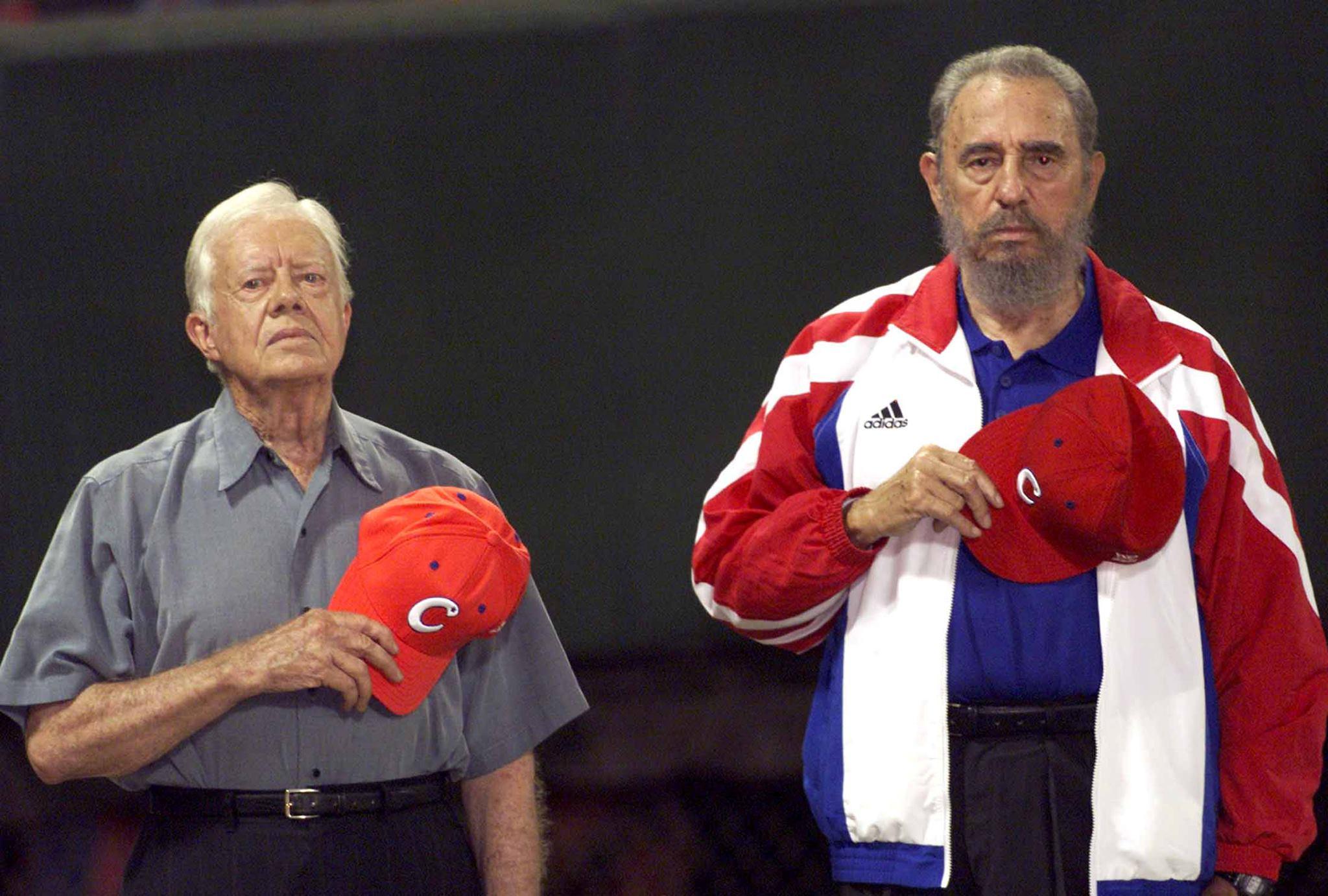 Кастро и Джими Картър