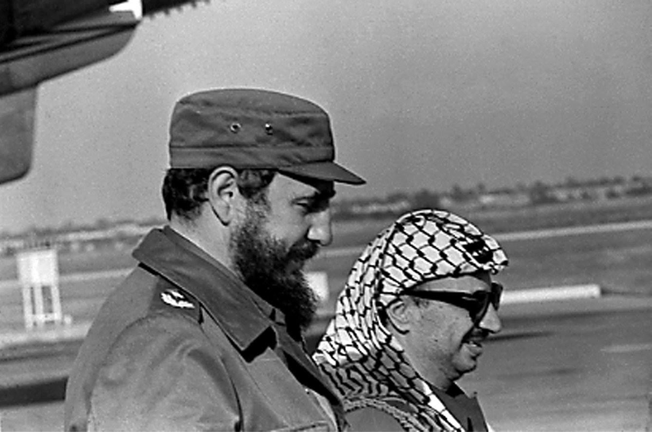 Кастро и Арафат