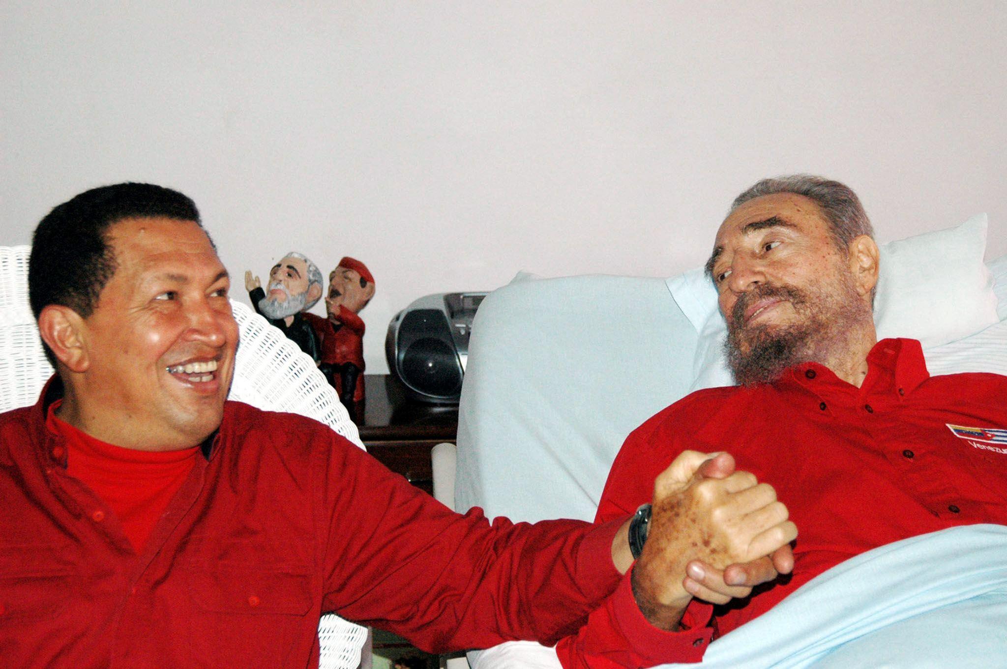 Кастро и Чавес