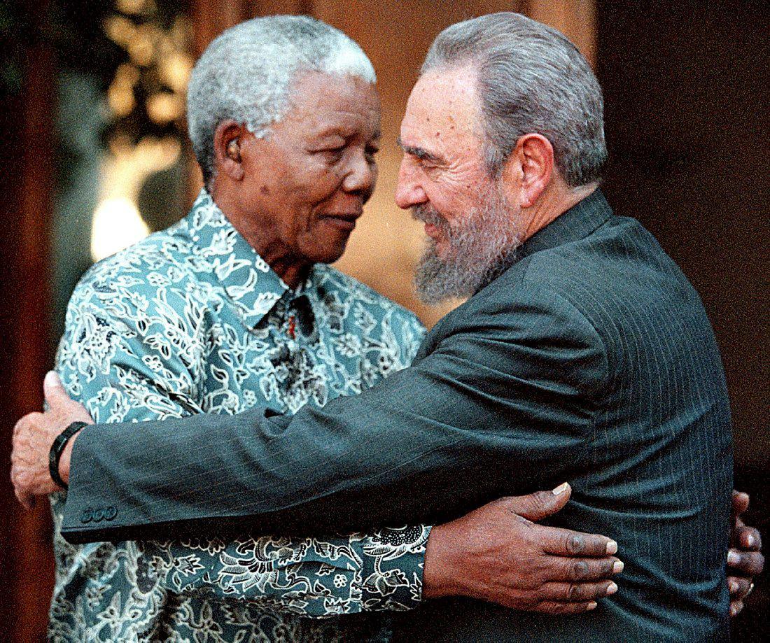 Кастро и Мандела