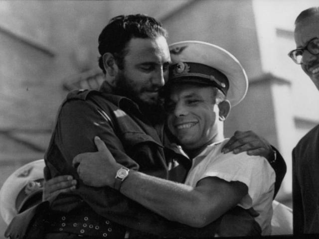 Кастро с Гагарин