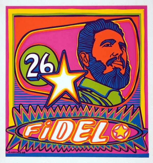 Кастро поп арт
