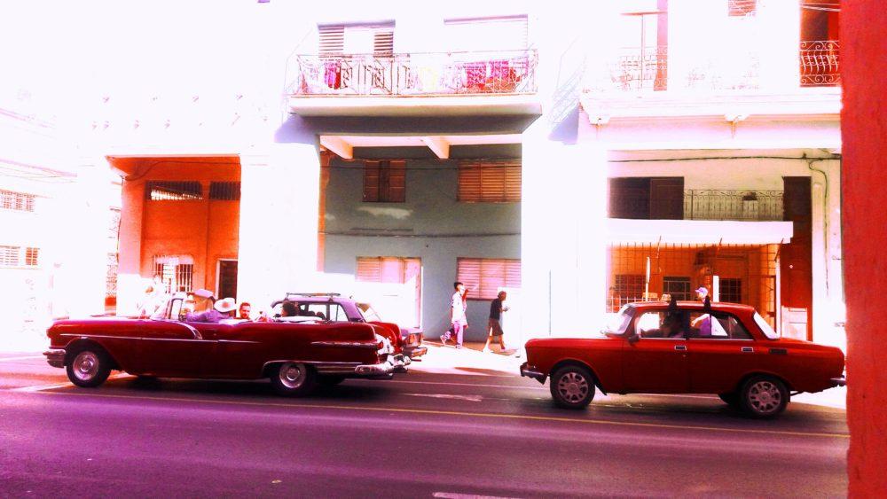 ретро колите на Куба
