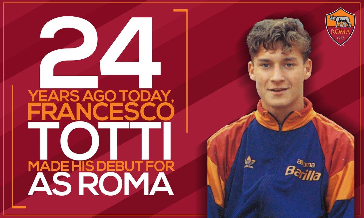 Фактът, че Франческо Тоти е част от тима на Рома като професионален футболист или юноша, от 1989-та година насам демонстрира каква огромна роля е изиграл Принца на Рим за своя любим тим Рома